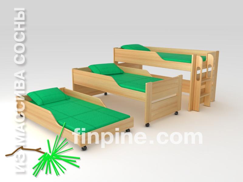 кроватки для детей от 4 лет фото